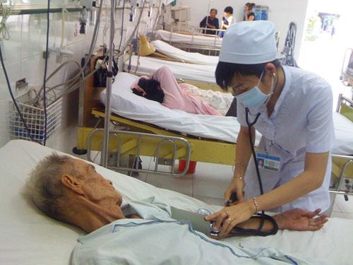 xử lý bệnh nhân đột quỵ