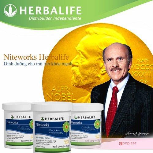Nitework Herbalife giúp bổ sung NO hiệu quả