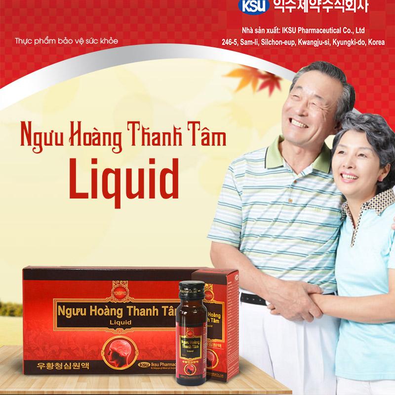 Ngưu Hoàng Thanh Tâm Liquid A035 1