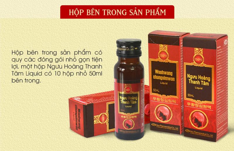 Ngưu Hoàng Thanh Tâm Liquid A035 4
