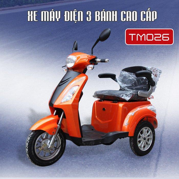 Xe máy điện 3 bánh cao cấp dành cho người khuyết tật TM026  1