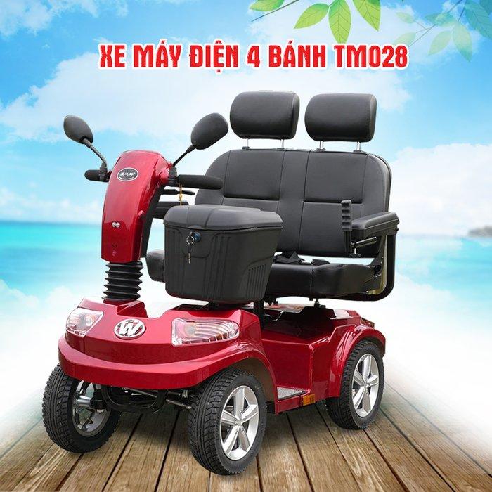 Xe máy điện 4 bánh cho gia đình TM028 1
