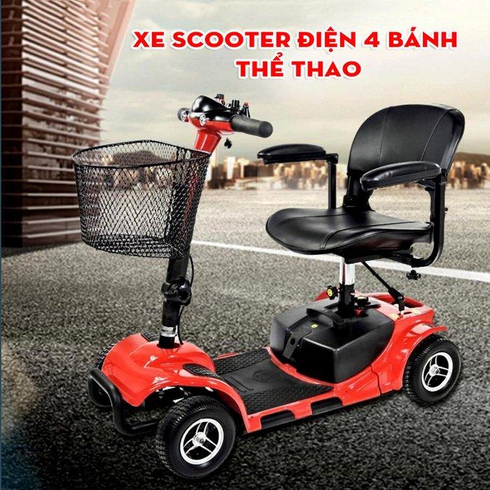 Xe scooter điện 4 bánh thể thao TM029 1
