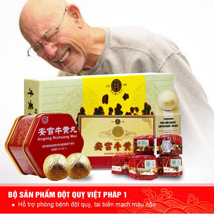 Bộ sản phẩm đột quỵ Việt Pháp