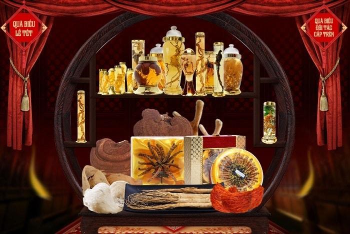 Bộ sản phẩm quà biếu tết của Onplaza Việt Pháp