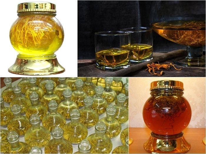 4 phương pháp ngâm rượu đông trùng hạ thảo tốt nhất