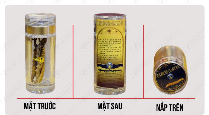 đặc điểm nhận biết Đông trùng hạ thảo nguyên con cao cấp thượng hạng loại 20g/hộp D054 chính hãng 5