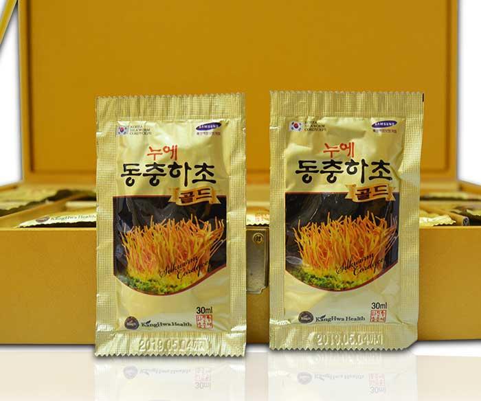 Túi đông trùng hạ thảo Hàn Quốc