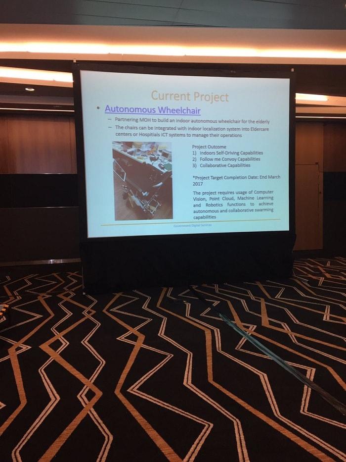 Dự án xe lăn tự lái ở Singapore đang trong giai đoạn thử nghiệm và phát triển