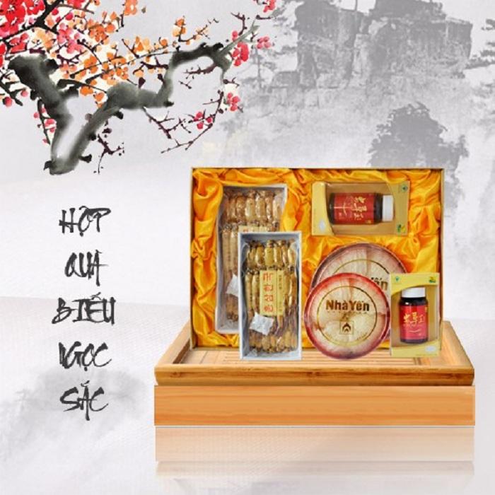 Hộp quà biếu mang ý nghĩa sức khỏe