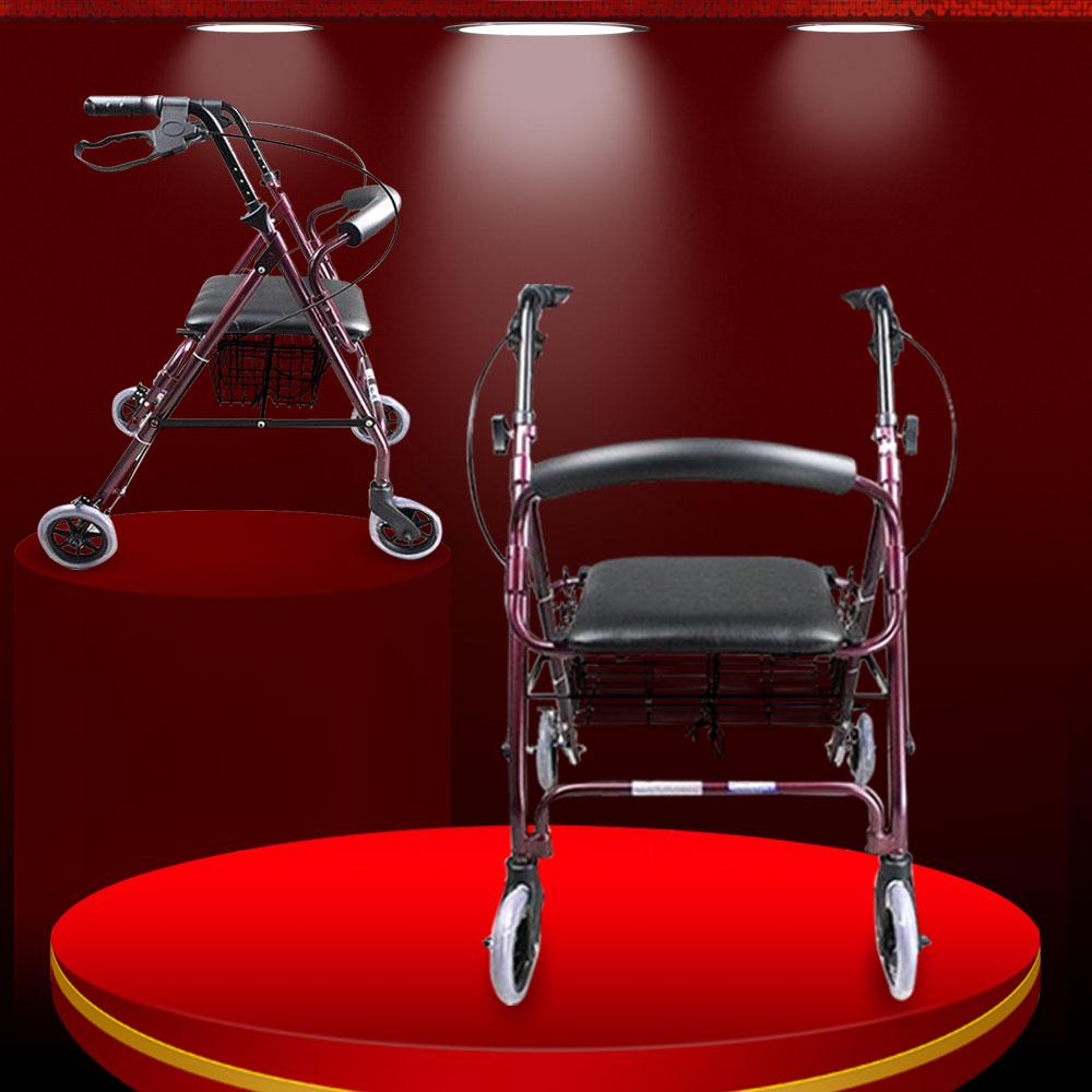 Khung tập đi có bánh xe tiện lợi dành cho người khuyết tật TM040