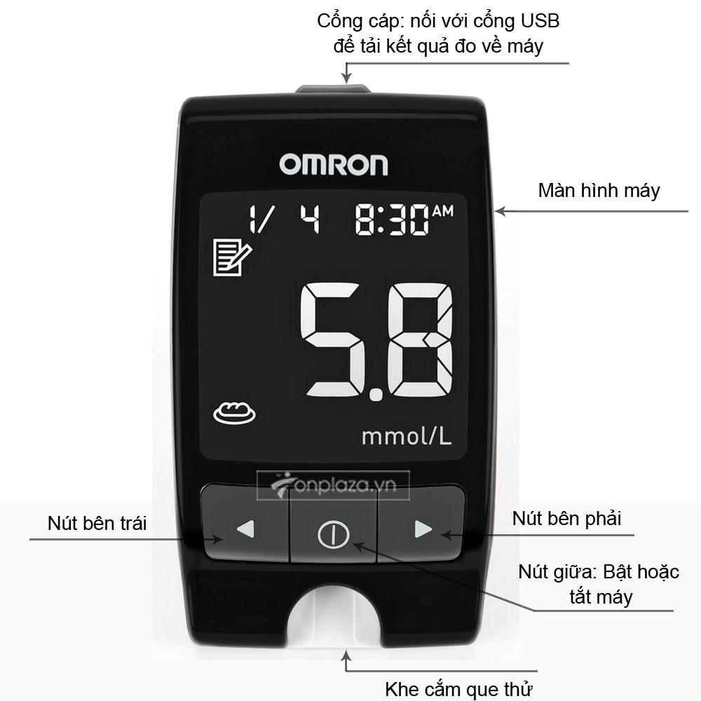 Máy đo đường huyết HGM-111( Loại tiêu chuẩn) TM017 2