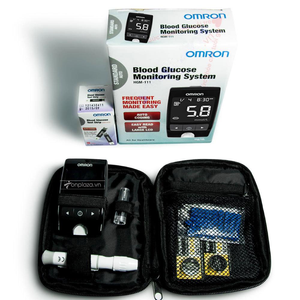Máy đo đường huyết HGM-111( Loại tiêu chuẩn) TM017 4