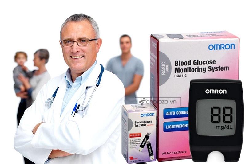 Máy đo đường huyết HGM-112 (loại thông dụng) TM016