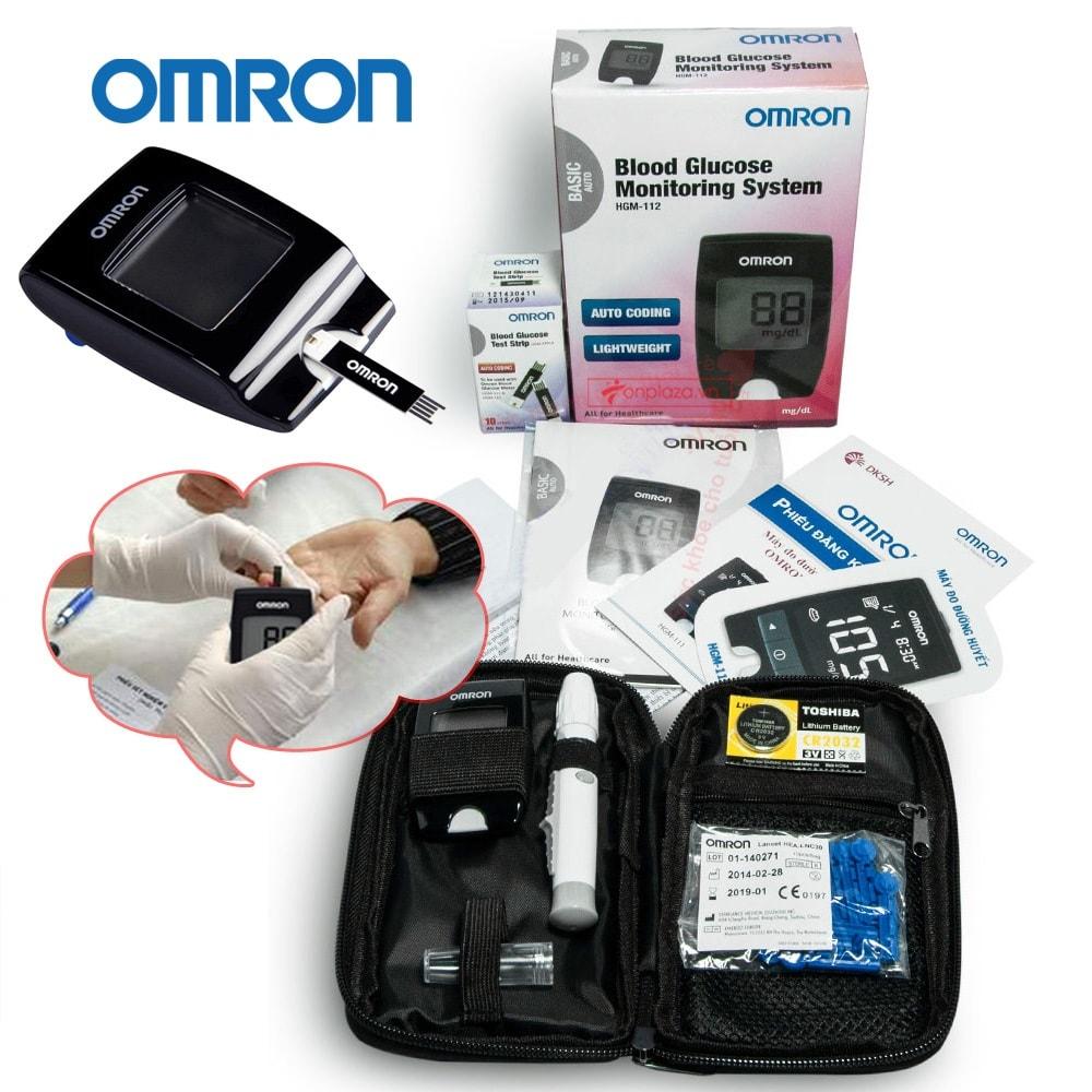Máy đo đường huyết HGM-112 (loại thông dụng) TM016 2