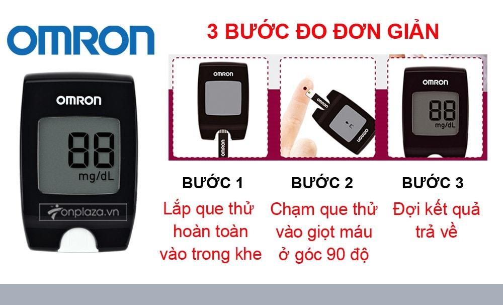 Máy đo đường huyết HGM-112 (loại thông dụng) TM016 3