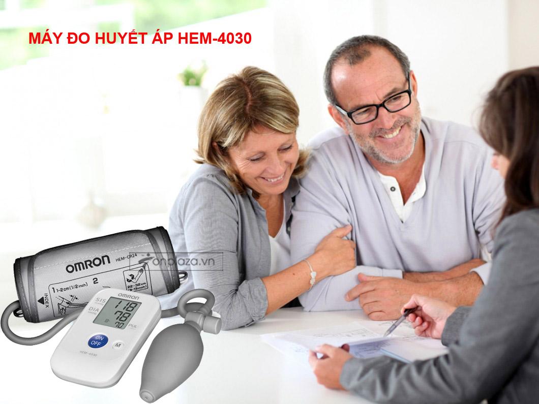 Máy đo huyết áp bắp tay bán tự động HEM-4030 TM013
