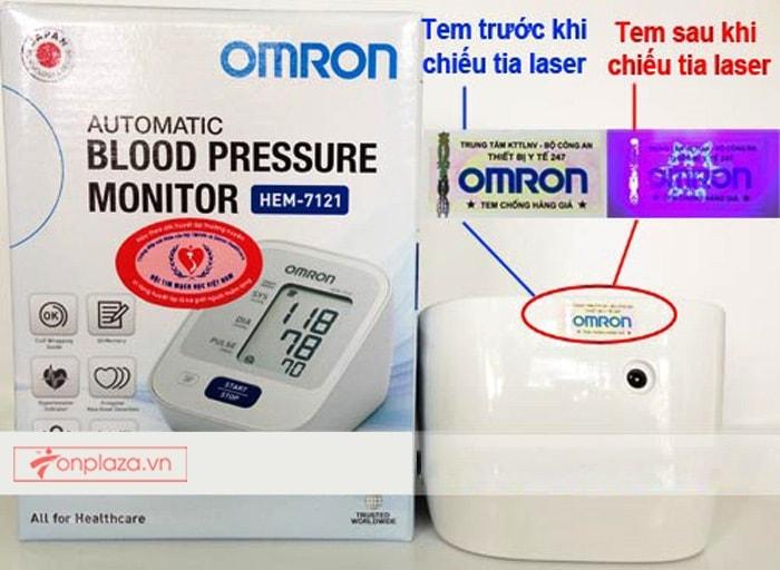 Máy đo huyết áp HEM-7121 TM014 3