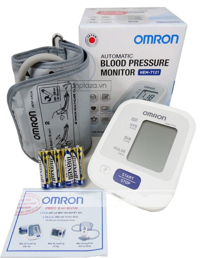 Máy đo huyết áp HEM-7121 TM014 4