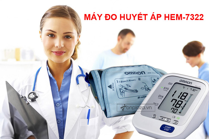 Máy đo huyết áp HEM-7322 TM015