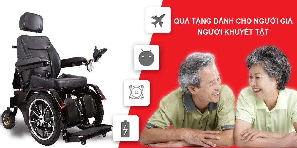 Xe lăn điện ngả gập phục hồi chức năng cao cấp JBH-HHD-01 TM012 1