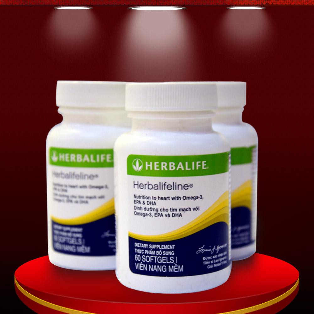 Hỗn hợp dầu cá hỗ trợ tim mạch Herbalife Omega 3 6 9