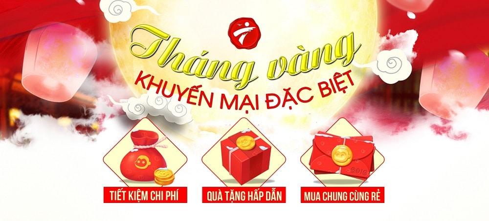 Khuyến mại sản phẩm - Nhận mưa quà tặng