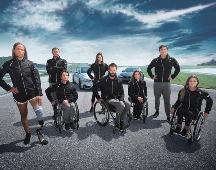 Mẫu xe lăn chơi thể thao dành cho vận động viên khuyết tật