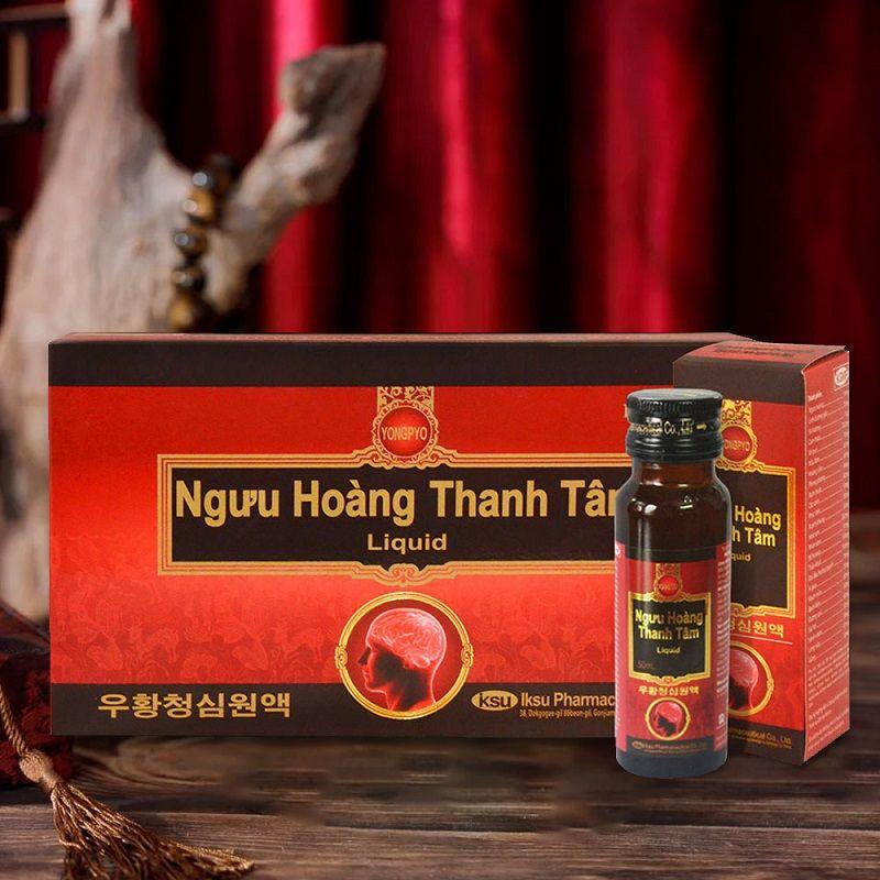 Ngưu Hoàng Thanh Tâm Liquid A035