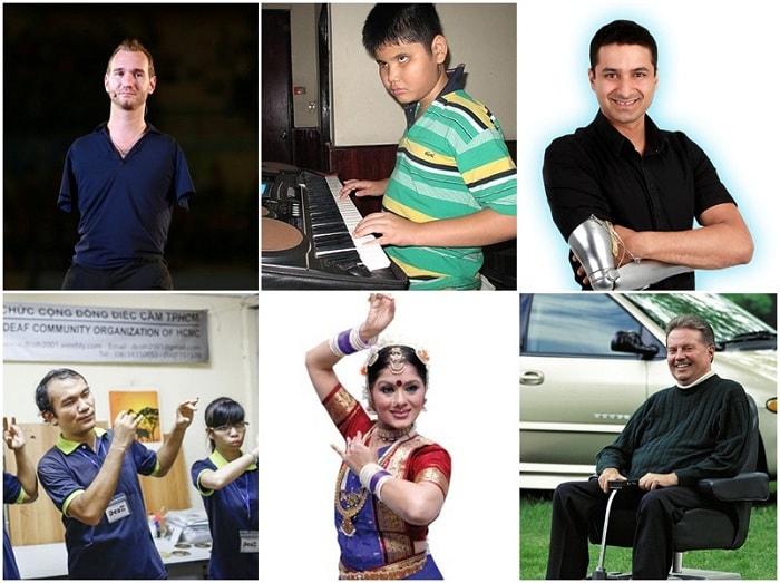 6 người khuyết tật tài năng nổi tiếng và thành công nhất thế giới
