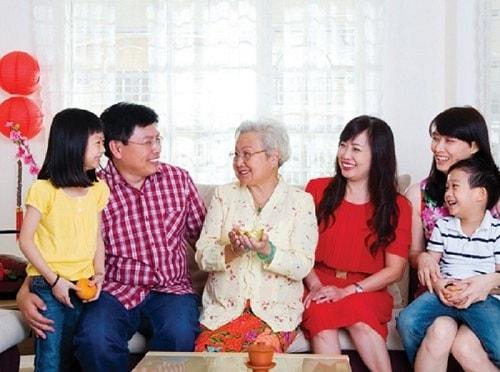 Hộp quà tết trường thọ cho ông bà khỏe mạnh sống lâu