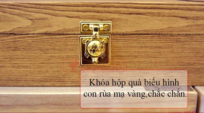 Viên bổ não 60 viên hộp gỗ Samsung Hàn Quốc A036 5