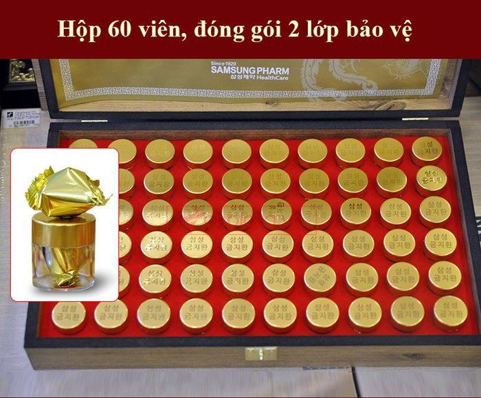 Viên bổ não 60 viên hộp gỗ Samsung Hàn Quốc A036 6