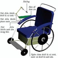 Thiết kế xe lăn đa năng cho người bị liệt