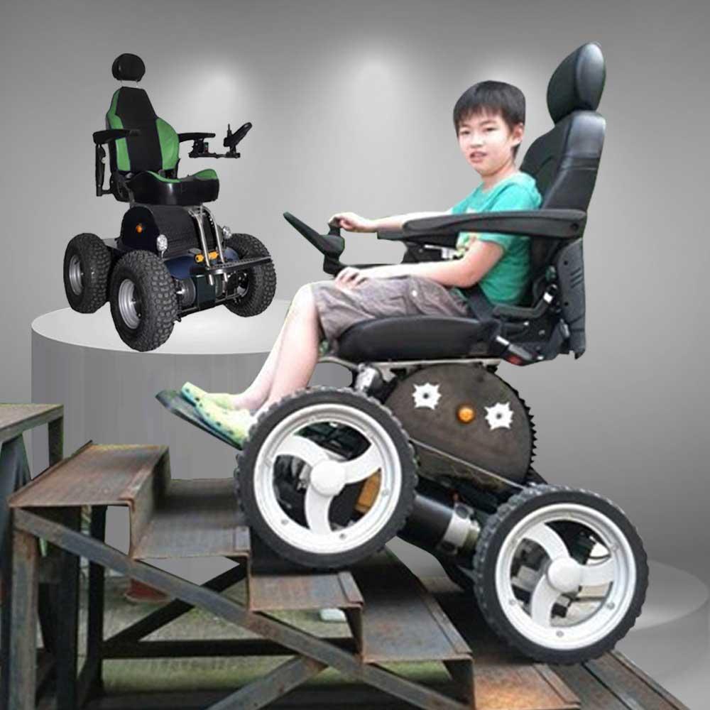 Xe lăn điện điều khiển bằng tay WY-MY-001 cao cấp TM008