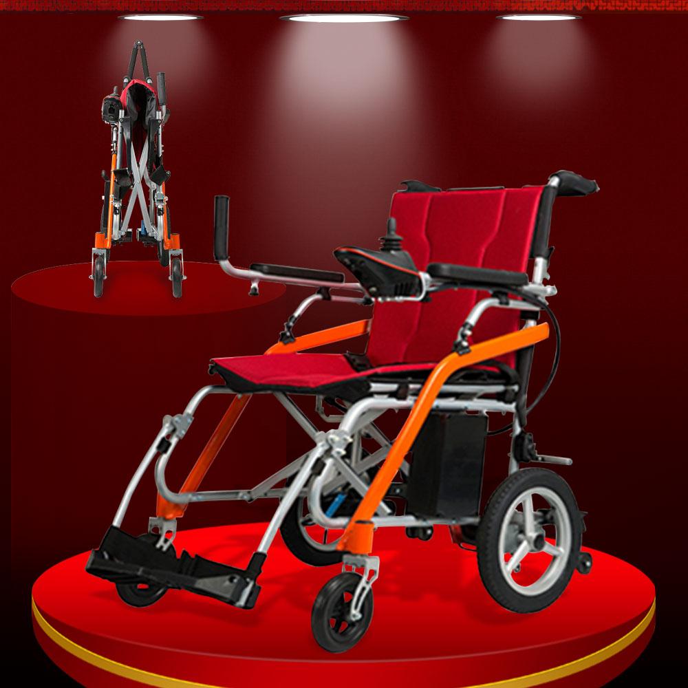 Xe lăn điện gấp hàng nhập khẩu chất lượng cao TM031