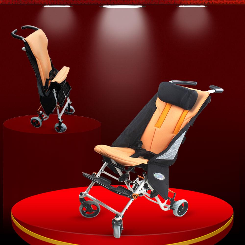 Xe lăn trẻ em loại chuyên dụng cho trẻ bại não và khuyết tật TM048
