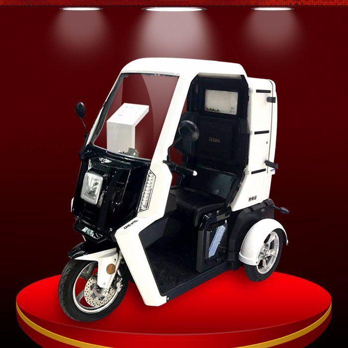 Xe ô tô điện 3 bánh nhập khẩu nguyên chiếc chất lượng cao TM038