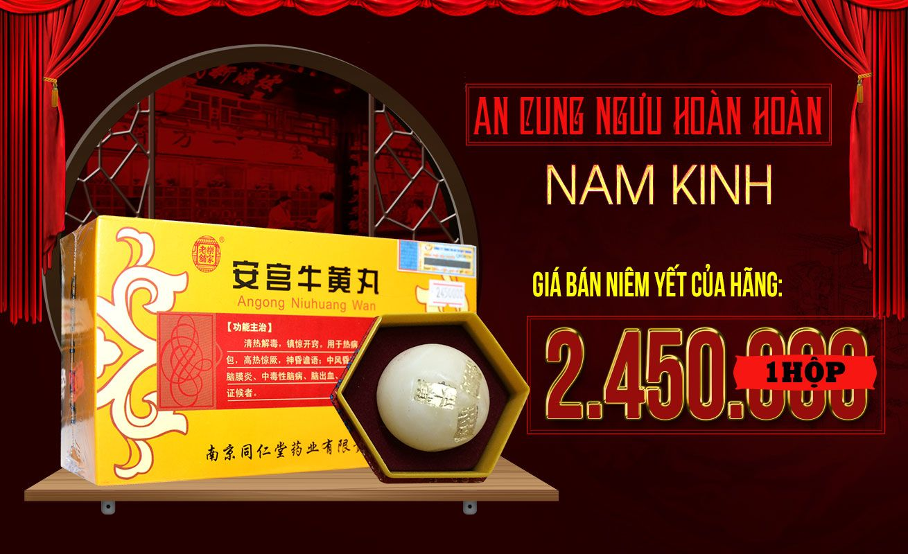 Giá bán niêm yết của hãng an cung ngưu Nam Kinh